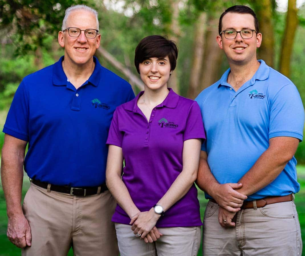 Chiropractor Team Jerome Tyjeski, Stephanie Tyjeski, and Josh Tyjeski of Tyjeski Family Chiropractic